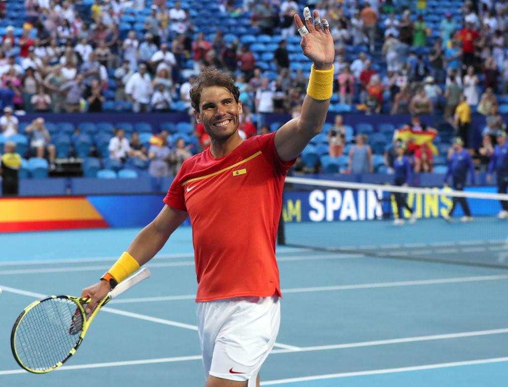ラファエル・ナダル率いるスペインが日本を下す スポーツマンシップ賞の表彰では「優れたテニス選手である以上に、いい人として」 画像