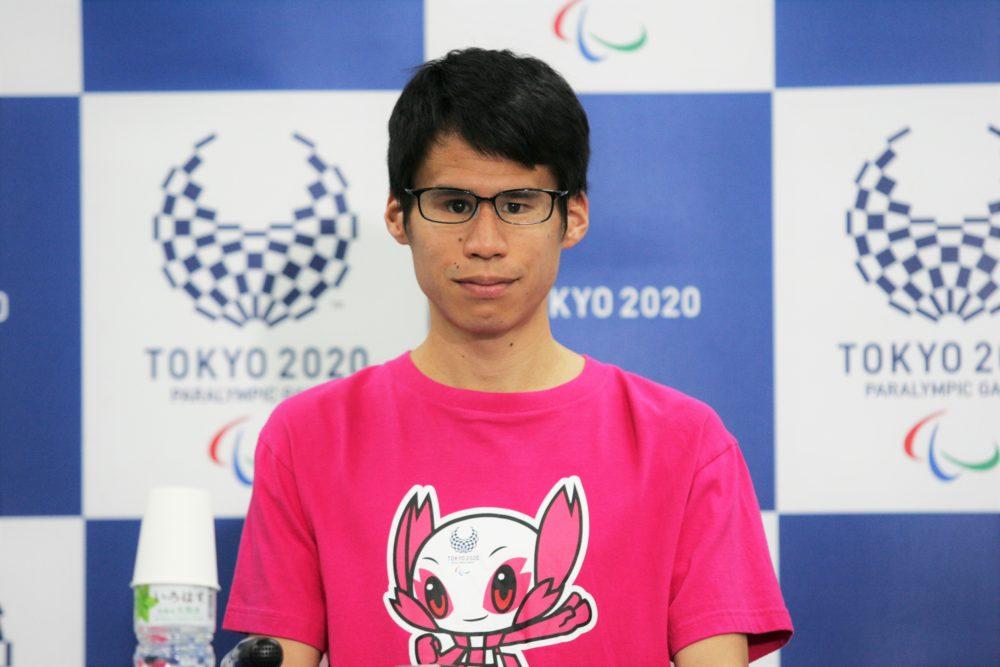 「パラリンピックの文化を日本に根づかせたい」と語る堀越信司選手