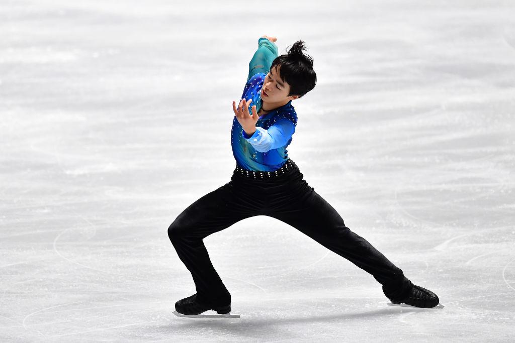 鍵山優真、憧れる宇野昌磨への思いを語る ユースオリンピックのSPでは3位 画像