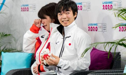 鍵山優真がユース五輪で逆転金メダル 表彰台からの眺めに「こんなにも応援してくれた人がいたんだ」