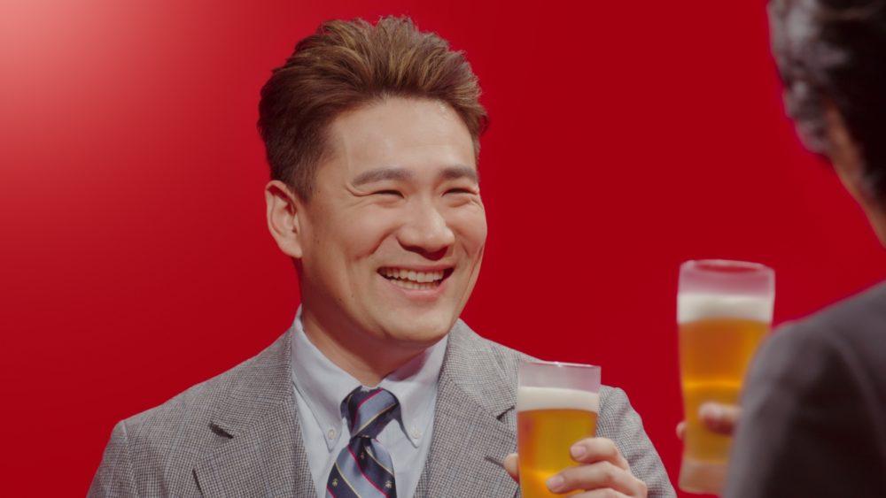 田中将大、日本で「やっと『本麒麟』が飲める」と喜び 新CMで江口洋介、杏と乾杯 画像