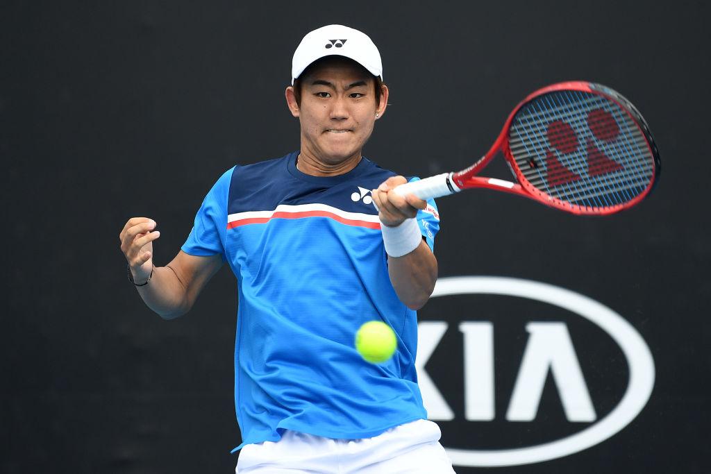西岡良仁、全豪オープン初戦を突破 「まずは勝てたことが嬉しい」 東京五輪出場に一歩前進 画像