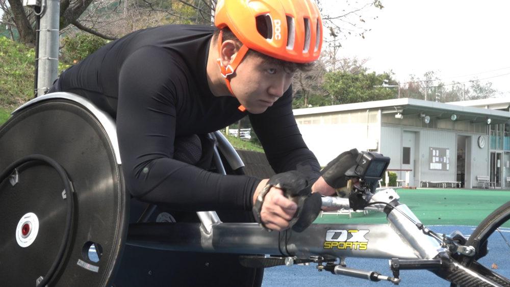 パラ陸上・西勇輝のドキュメンタリーが配信 時速40キロで走る車いす短距離のトレーニングに迫る 画像