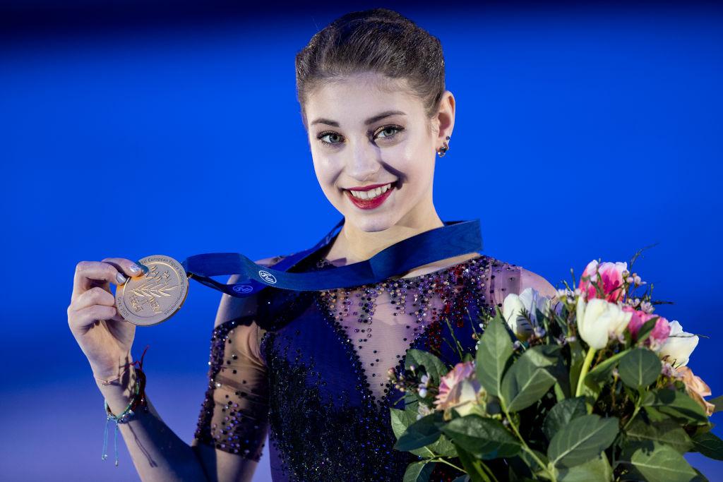 アリョーナ・コストルナヤが欧州選手権優勝 『ロシア3人娘』がまたも表彰台を独占 画像