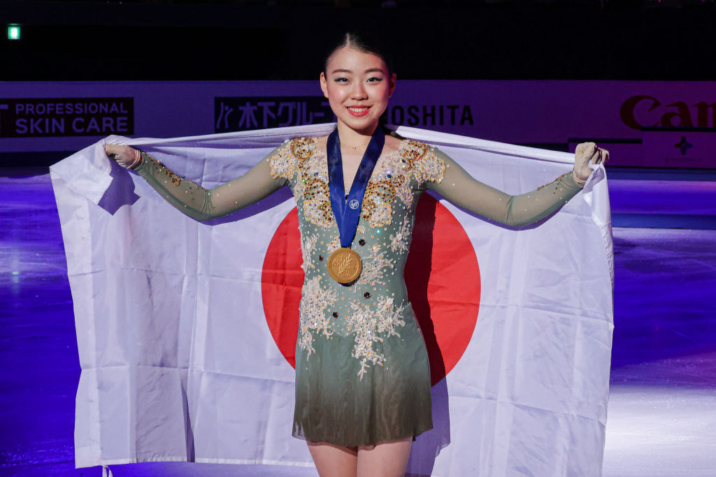 紀平梨花が四大陸選手権優勝 アクセル失敗も後半の3回転ジャンプを増やしてカバー 画像