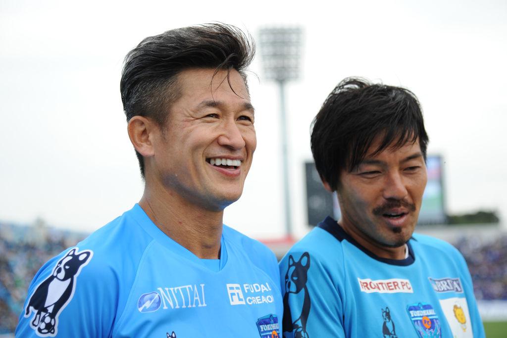 キング・カズの風格ある写真を松井大輔がアップ 横浜FCが横浜市庁訪問 画像
