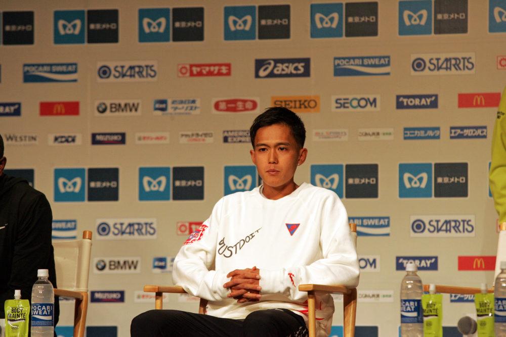 """大迫傑、東京マラソンは「誰よりも速く走ることに集中する」 MGCで感じた""""悔しさ"""" 画像"""