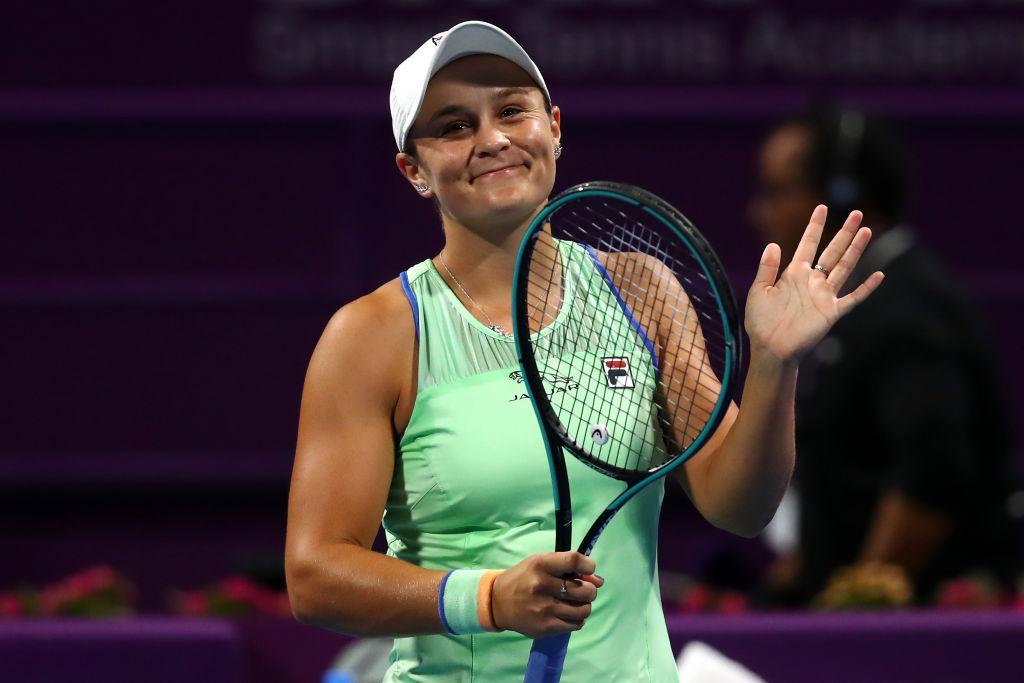 今を輝くテニス新女王アシュリー・バーティの朝活 画像