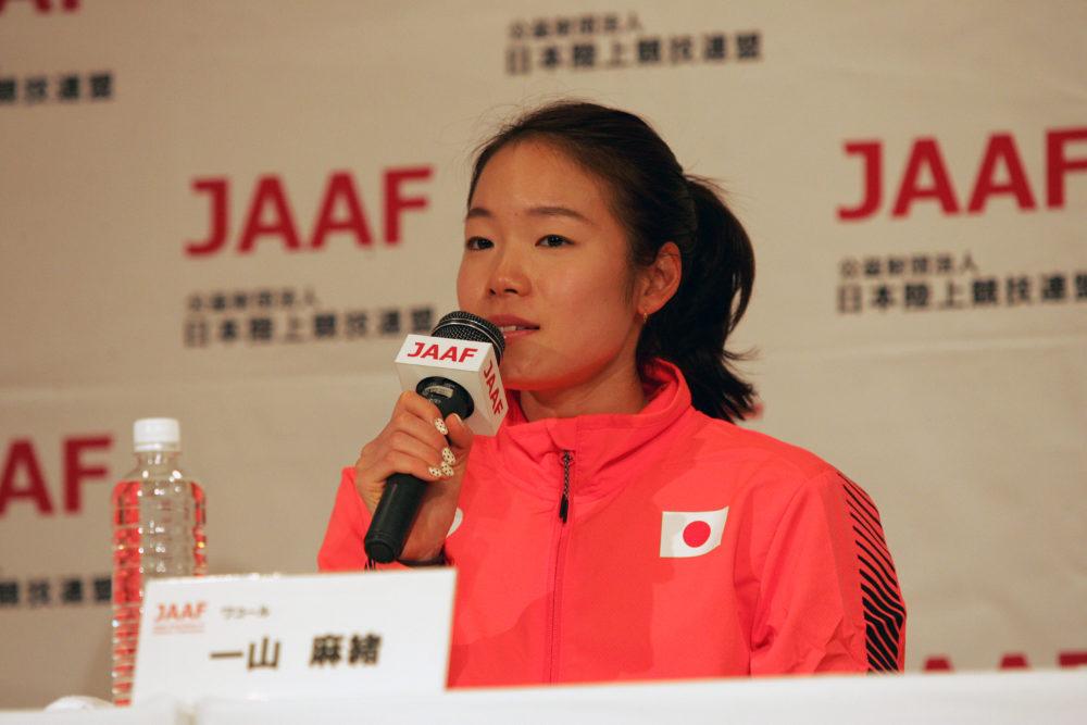 一山麻緒が掴んだ東京五輪マラソン代表 言葉を選びながら語ったさらなる目標 画像