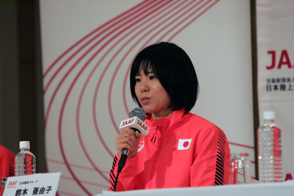 鈴木亜由子「しっかりと自分の力が出せるレースを」 五輪本番での使命 画像