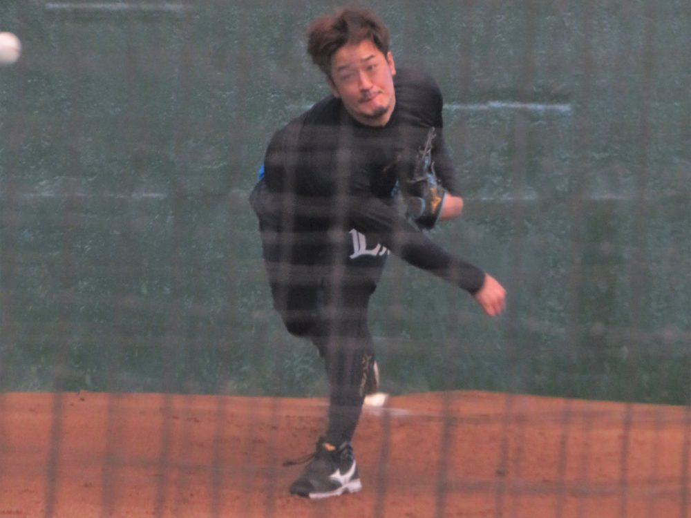 西武・平井克典、開幕延期も「貴重な時間」と前向き 「自分を見つめながら練習できる」 画像