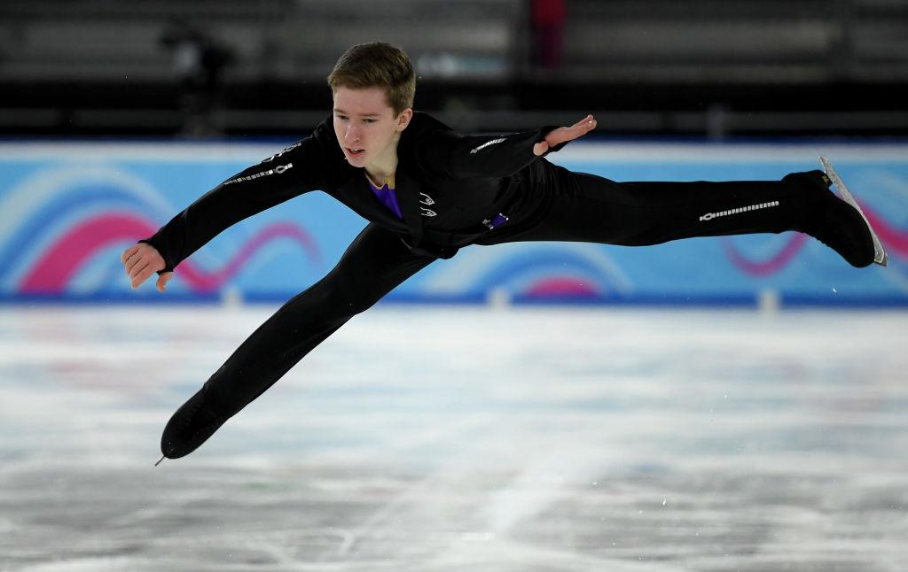 世界ジュニア王者アンドレイ・モザレフ、来シーズンに意欲「あの雰囲気に戻りたい」 画像