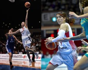 山本千夏、篠原恵が共に駆け抜けた16年間 バスケットは「人生だった」