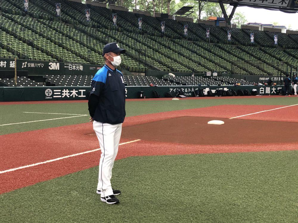 西武・辻発彦監督「いよいよ第一歩」 開幕へ向け46日ぶりのチーム練習 画像