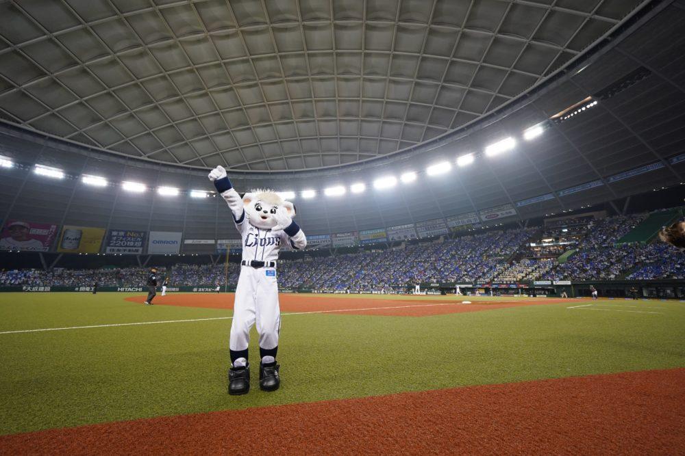 プロ野球マスコット図鑑 #02 ライナ(埼玉西武ライオンズ) 画像