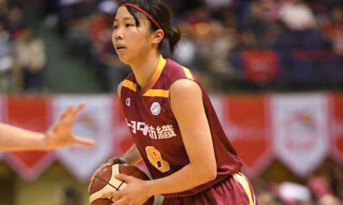 女子バスケ期待のルーキー、東藤なな子の大きな飛躍