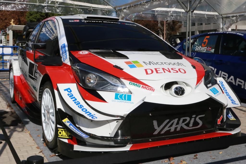 【WRC】ラリージャパン一年前イベント開催 レースは来年11月予定 画像