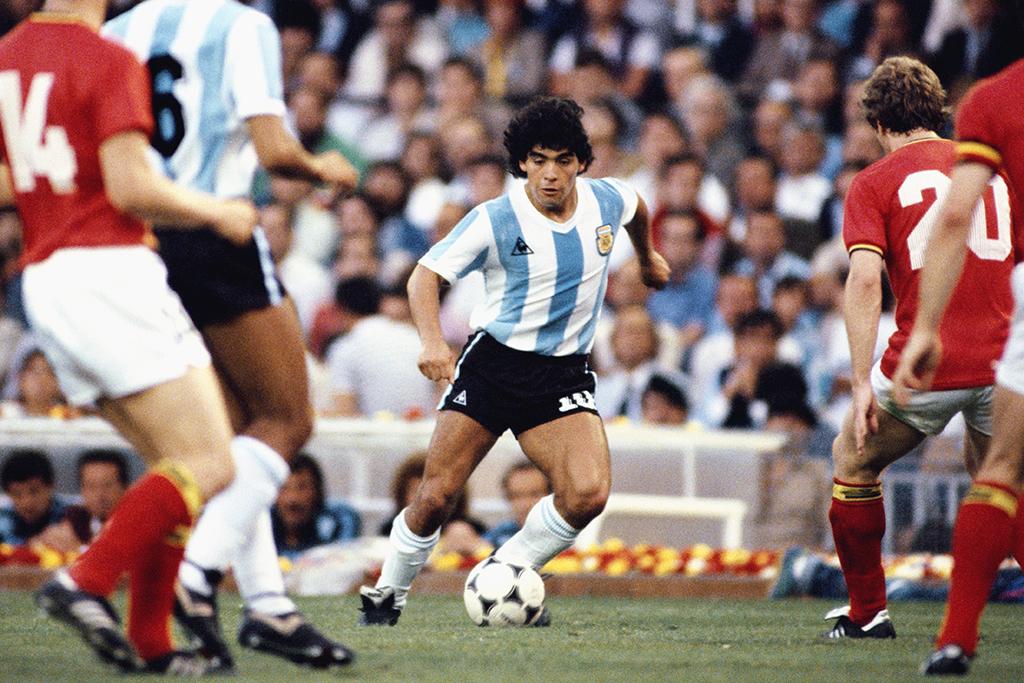 【追悼】マラドーナの衝撃! 1986年、メキシコW杯の追憶