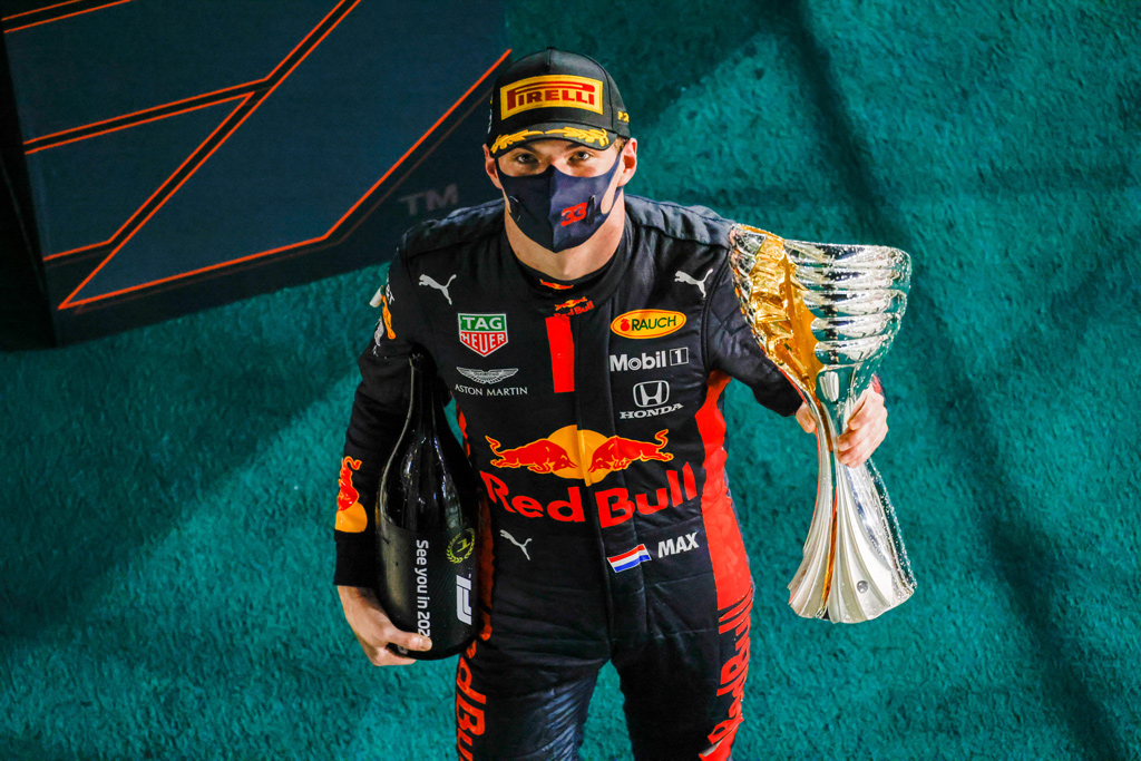 【F1】フェルスタッペン、完勝で2020年を締めくくる「本当に楽しめた」