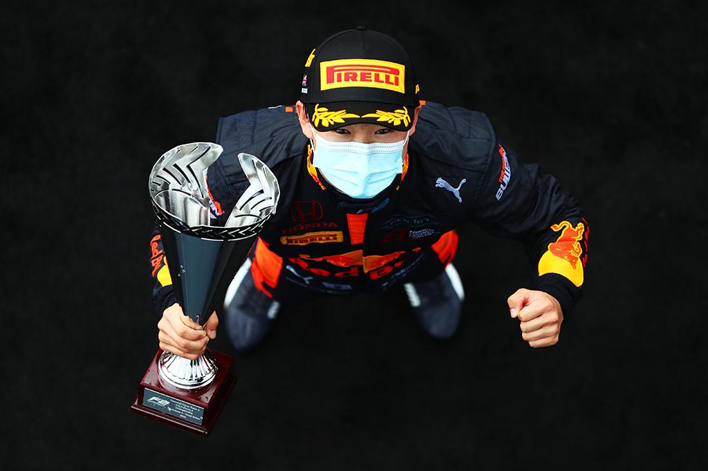 【F1】角田裕毅、アルファタウリからの2021年F1参戦が決定!「自分らしく、毎戦、全力で戦っていきます」 画像