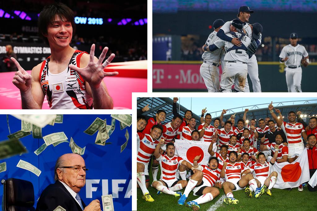 たまさぶろが独断と偏見で選ぶ2015年スポーツ10大ニュース 画像