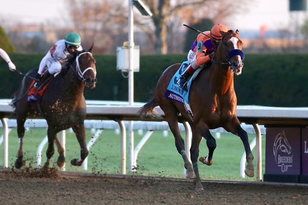 【競馬】米年度代表馬「エクリプス賞」にKダービー&BCクラシックVのオーセンティック 画像