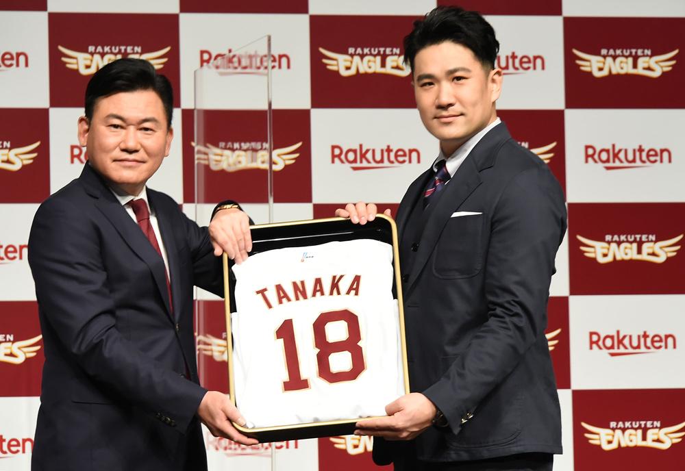 【野球】田中将大、楽天復帰で「ワクワクが抑えられない」東京五輪への意欲も語る 画像