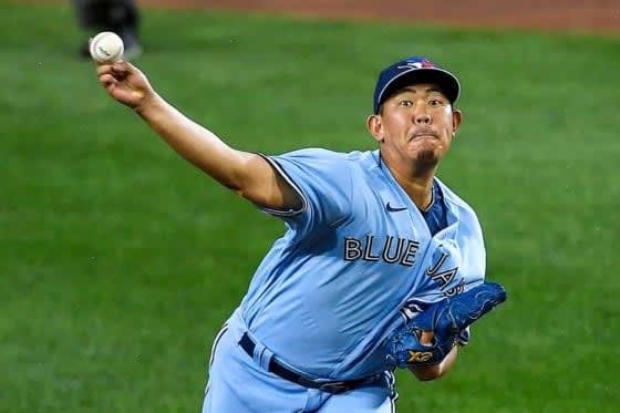 "【MLB】山口俊、ブルージェイズから事実上の""戦力外"" 他球団移籍、マイナー降格も 画像"