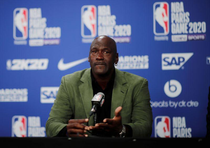 NBA=M・ジョーダン氏、医療クリニック建設に多額の寄付 画像