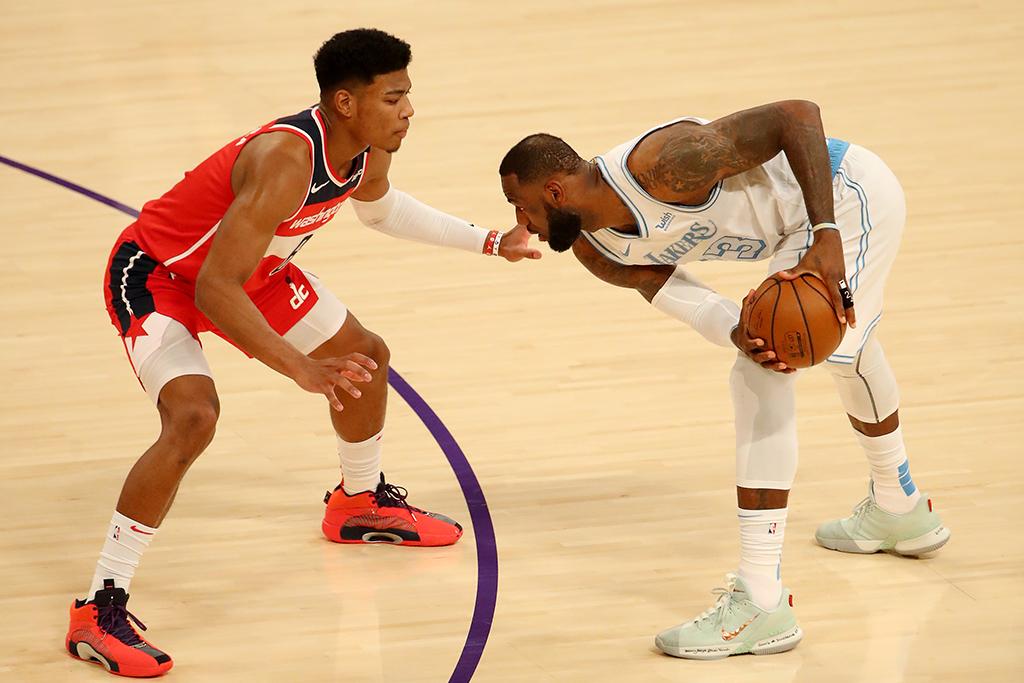 【NBA】八村塁、15得点でレブロン・レイカーズを撃破 第4Q同点で豪快ダンクも 画像