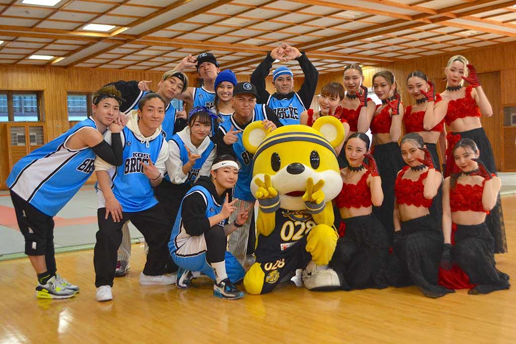 バスケ対ダンス、Bリーグ vs Dリーグ in宇都宮 史上初ダンスバトルの軍配は……