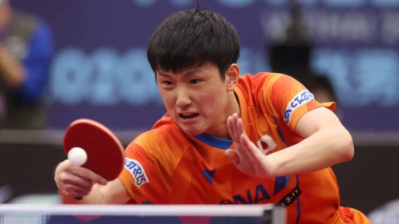 張本智和、決勝進出 五輪銅メダリストにリベンジ<WTTスターコンテンダードーハ> 画像