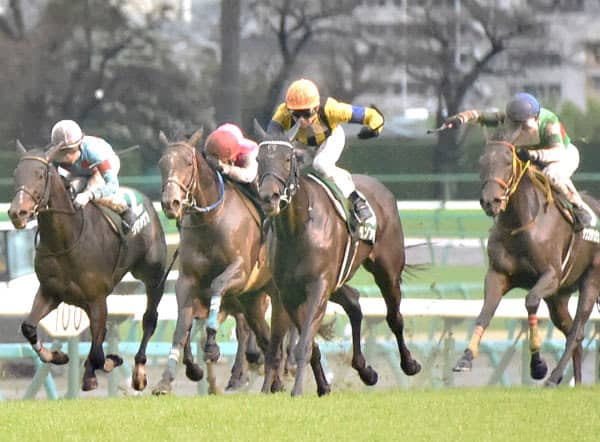 【中山牝馬S】ランブリングアレーが武豊に導かれ重賞初制覇「不良馬場克服してくれた」 画像