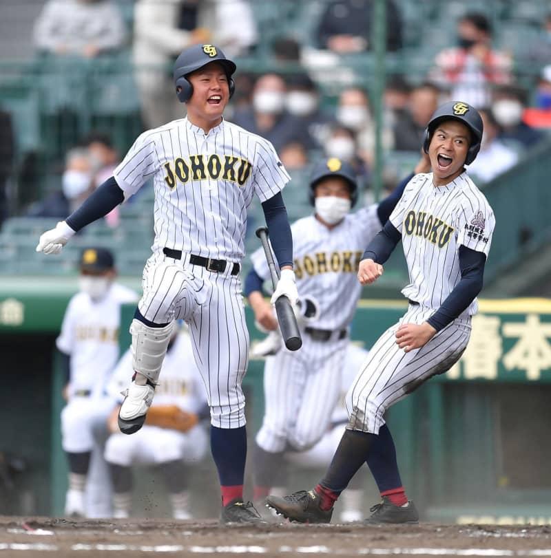 鳥取城北が逆転勝ちでセンバツ初勝利!初出場の三島南は奮闘実らず 画像