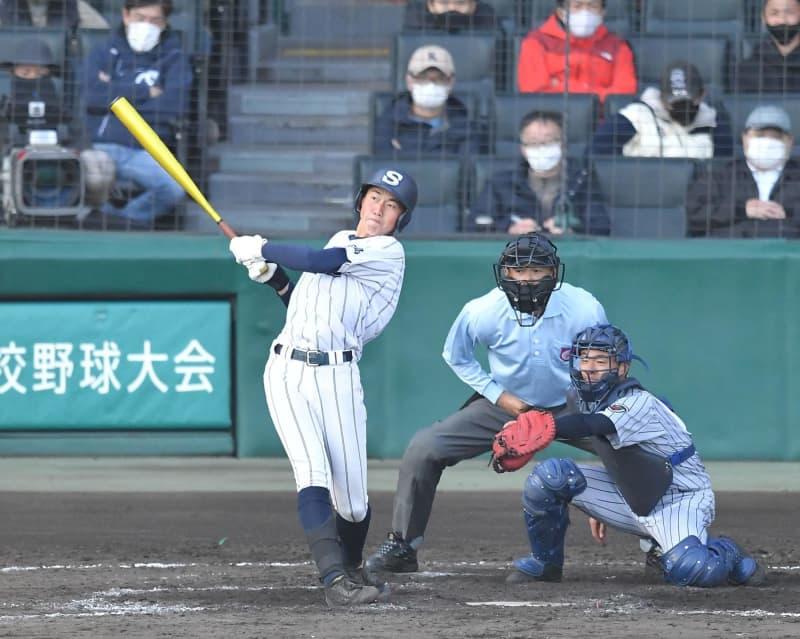 広島新庄 延長12回、花田がサヨナラ打 上田西エース山口 162球力尽きる 画像