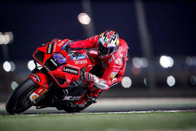 MotoGP第1戦カタールGP:ドゥカティのミラーが初日総合トップ。レコードタイムにあと0.007秒まで迫る 画像