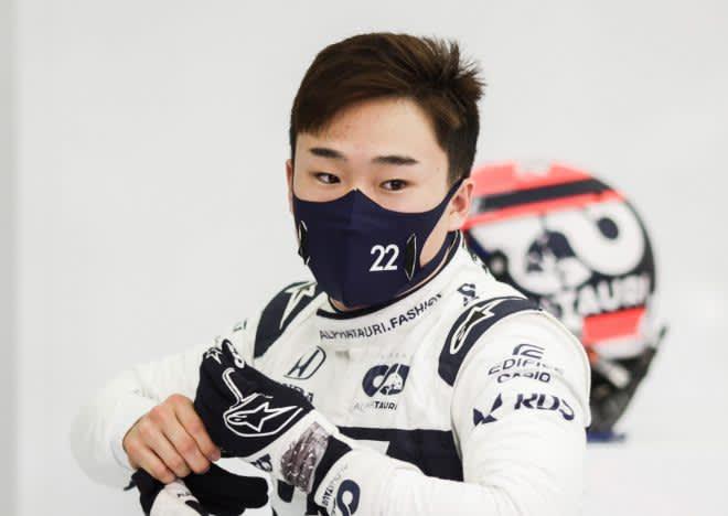 角田裕毅、首位から0.447秒差の7番手「最高の初日。予選でポテンシャルを披露するのが楽しみ」アルファタウリ・ホンダ【F1第1戦】 画像