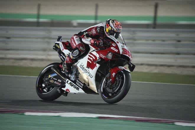 中上貴晶「重要なFP2で、最初から最後までフロントブレーキに問題」/MotoGP第1戦カタールGP初日 画像
