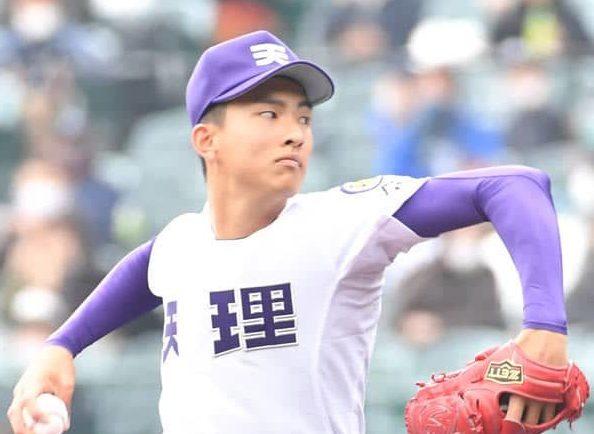 【センバツ】天理の193センチ右腕・達が中京大中京・畔柳に「超えられた…」大台到達目指す 画像