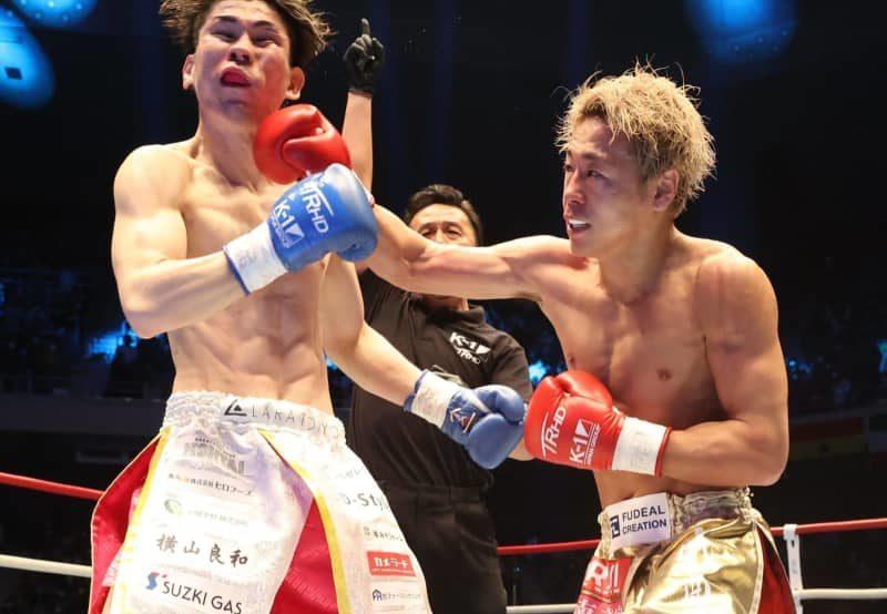武尊が戦慄KO防衛 観戦の那須川天心戦実現へ「最高の舞台で最高の試合を」K-1 画像