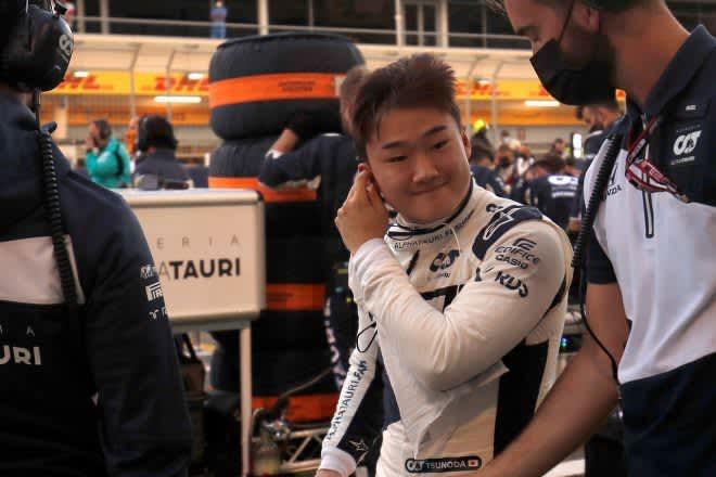 ルーキー角田裕毅が9位、史上初の快挙「大スター、アロンソをパスしたことに興奮!」アルファタウリ・ホンダ【F1第1戦】 画像