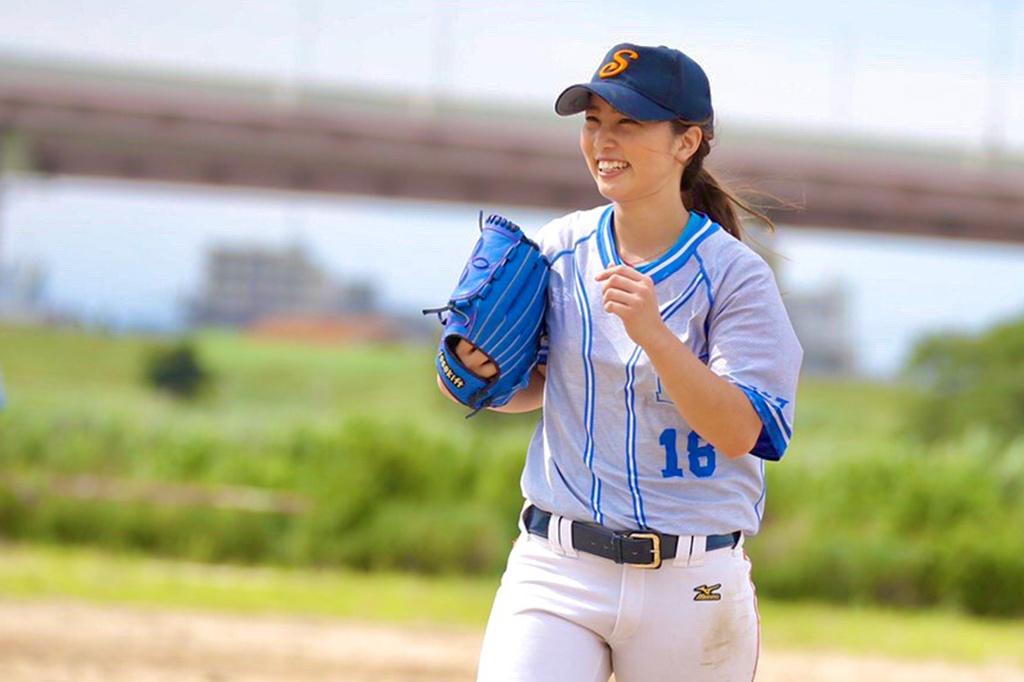"""最速120キロの美女左腕・笹川萌が語る「野球と私」後編・女子野球の現在地と""""大舞台""""への思い"""