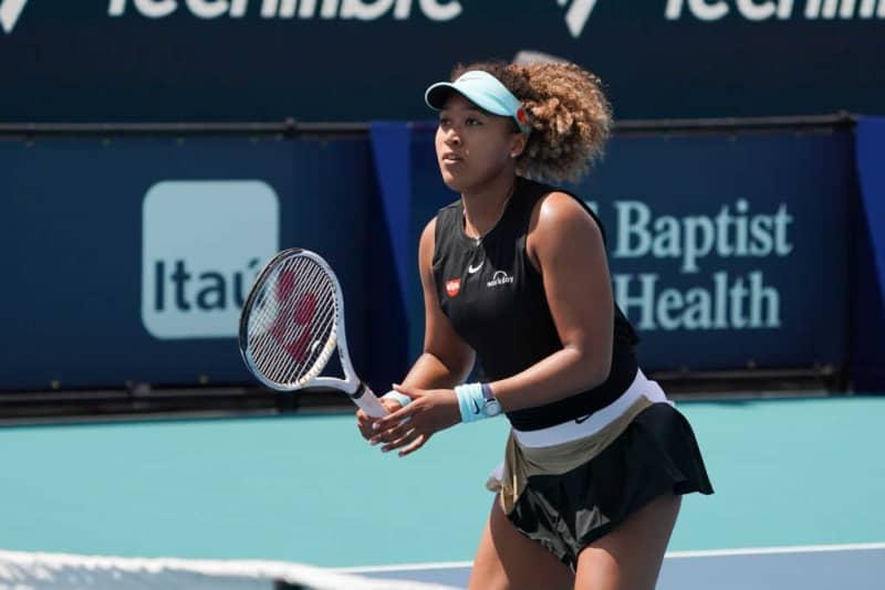 大坂なおみが準々決勝で姿を消す。連勝記録は23でストップ[WTA1000 マイアミ] 画像