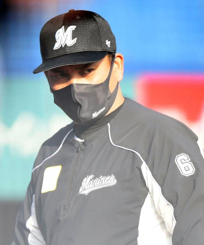 ロッテ・井口監督 今季初勝利で「選手たちもホッとしたと思う」四球絡めた攻撃意識 画像