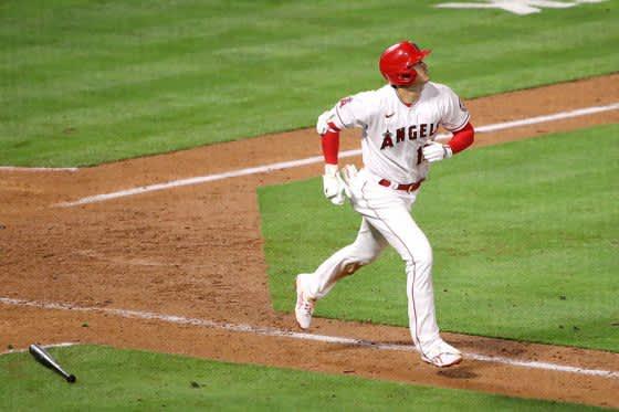 【MLB】大谷翔平、1号2ランに指揮官絶賛「自信を高める」 第1打席は「間違いなく三塁打」と不満 画像