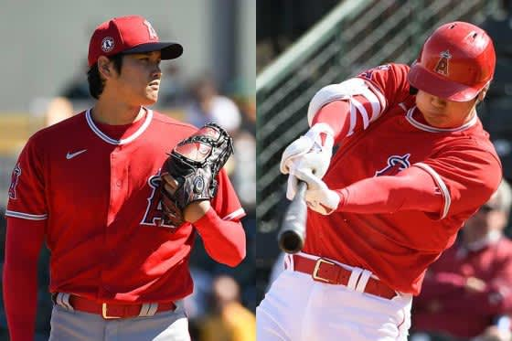 【MLB】大谷翔平、118年ぶり「2番・投手」に米メディア興奮「これを楽しみにしてた」 画像