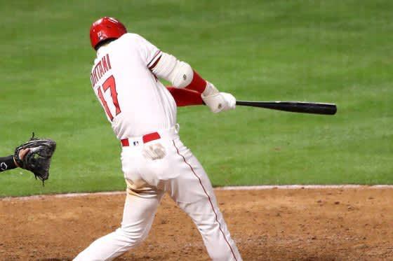 【MLB】大谷翔平、「2番・投手」で初回161キロ無失点&先制2号ソロ 城島超え通算49発で日本人3位 画像