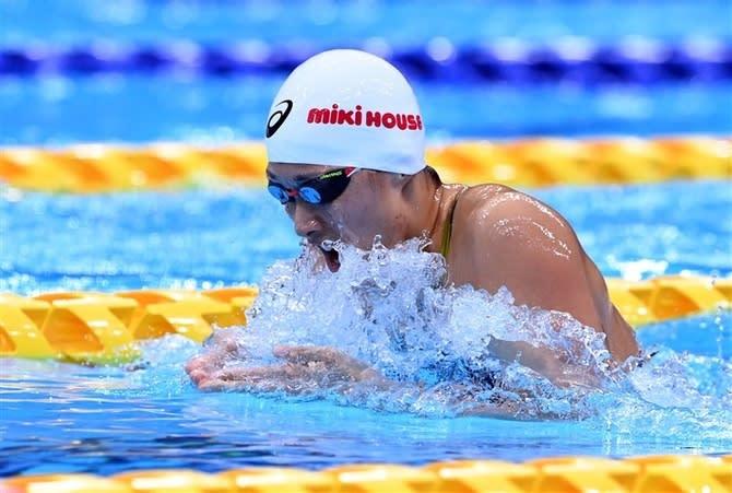 鈴木聡美、3大会連続五輪へ望みつないだ 女子200m平泳ぎ決勝へ 画像