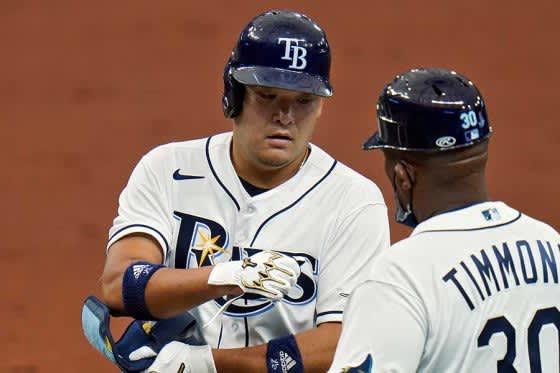 【MLB】筒香嘉智、3戦連続安打&今季初マルチで勝利に貢献 チームは連敗4でストップ 画像