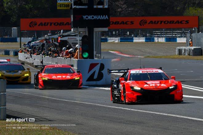 【タイム結果】スーパーGT第1戦岡山 公式練習。ARTA NSX-GTとSUBARU BRZ が最速タイムを記録 画像